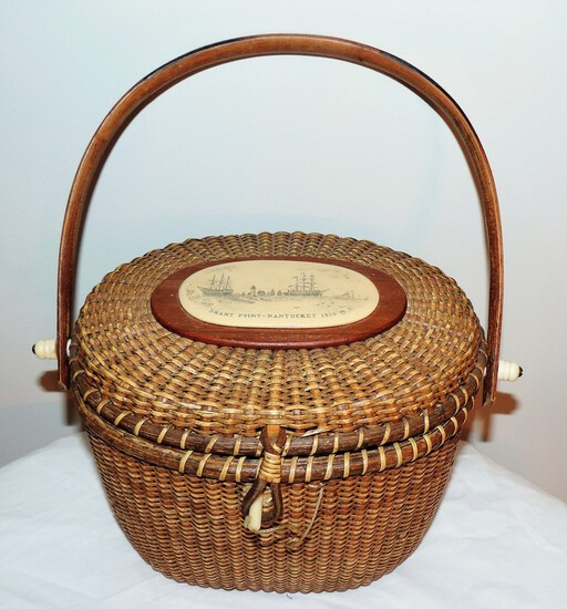 Nantucket Handled Basket