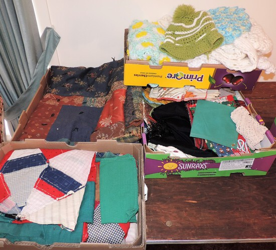 Lot of Fabric Items