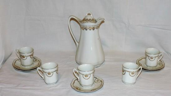 Lot of Bavaria Tea Set
