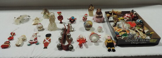Collection Of Vintage Christmas Tree Ornaments