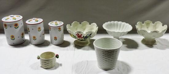 Kitchen Ceramic Lot