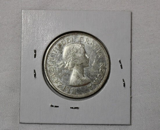 1963 Canada uncirculated Half Dollar