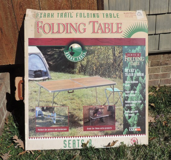 Ozark Trail Folding Table