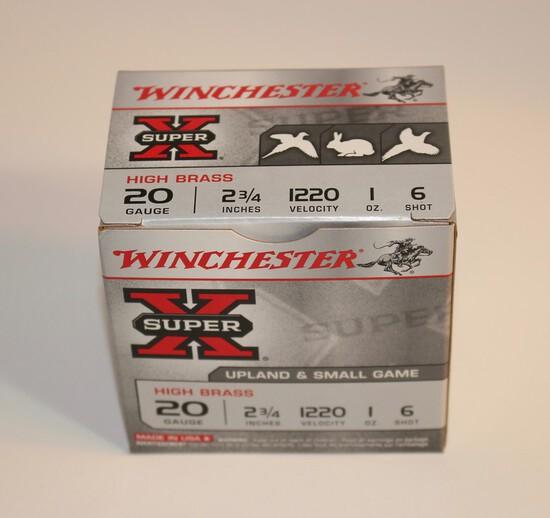 Winchester 20-Gauge Shotgun Shells