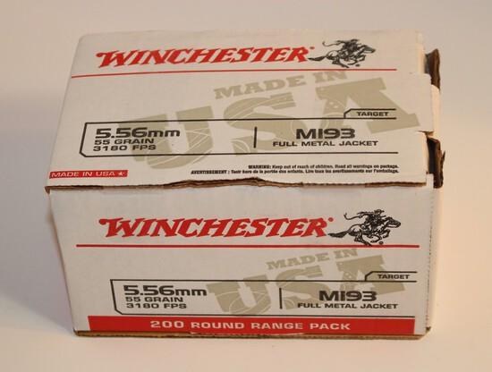 Winchester 5.56mm 55 Grain FMJ