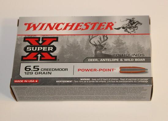 Winchester 6.5 Creedmoor 129 Grain
