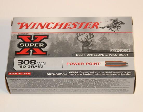 Winchester 308 Win 180 Grain