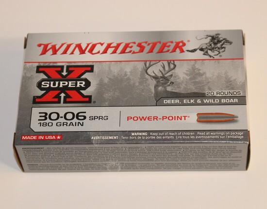 Winchester 30-06 SPRG 180 Grain