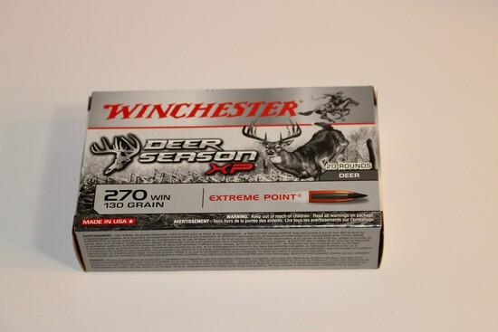Winchester 270 Win 130 Grain