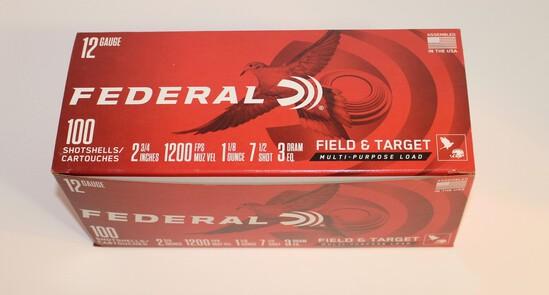 Federal 12-Gauge Shotgun Shells