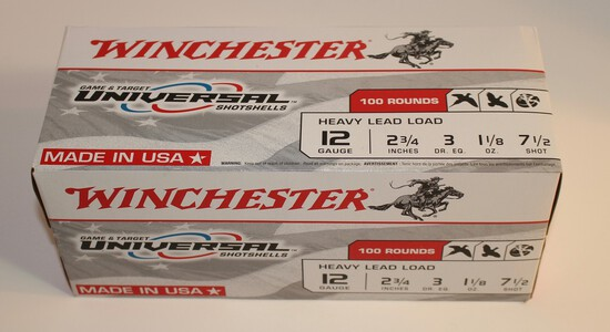 Winchester 12-Gauge Shotgun Shells