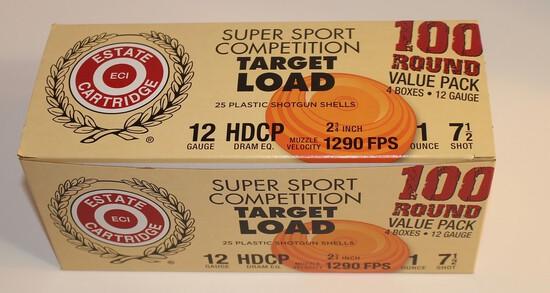 Estate Cartridge 12-Gauge Shotgun Shells