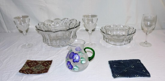 Lot of Fancy Glass
