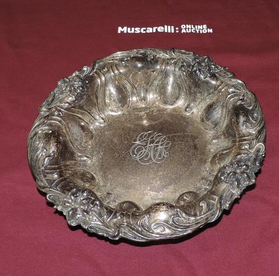 Monogrammed Sterling Silver Bowl