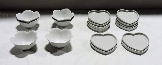 Kitchen Whiteware Lot