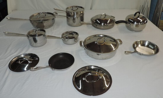 16 Pieces Stainless Cookware