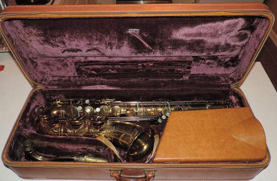 Scarce Selmer Professional Model Vintage Saxophone
