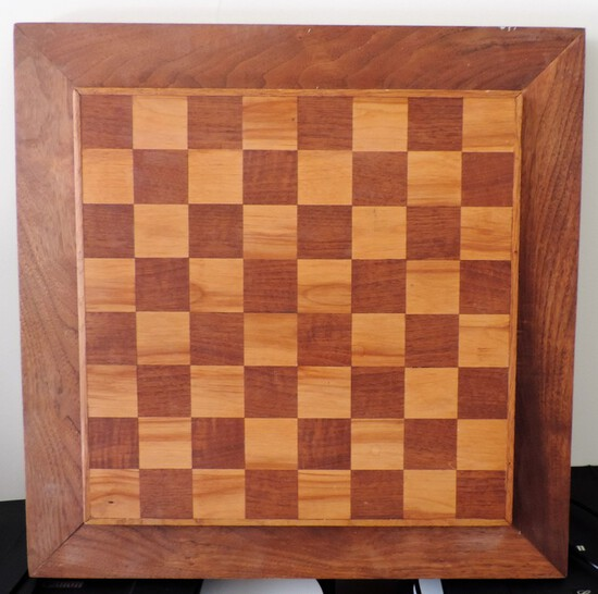 Extra Nice Hand-Crafted Checker Board