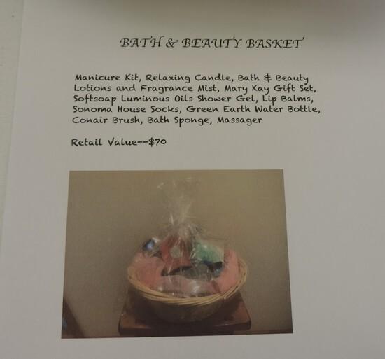 Bath and Beauty Basket