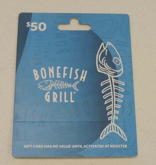 $50.00 Bonefish Grill Gift Card