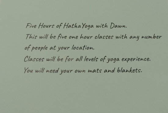 Five Hours of Free Hatha Yoga Classes with Dawn