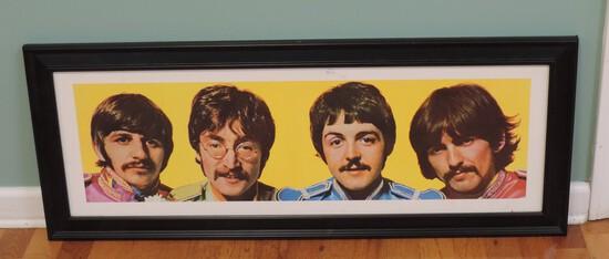 Beatles Framed Picture