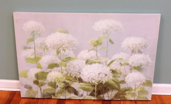 Snowballs on Canvas Print