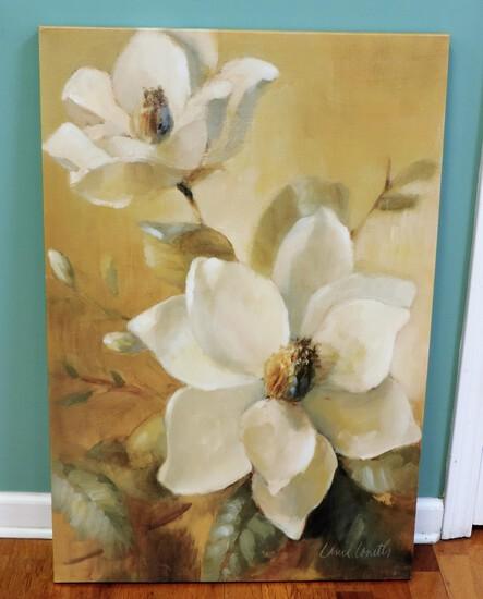 Magnolias on Canvas
