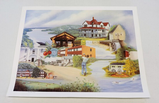 Signed and Numbered Alexander County Lucille Earp Print