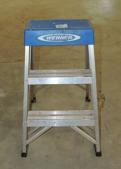 Two-Foot Aluminum Werner Step Ladder