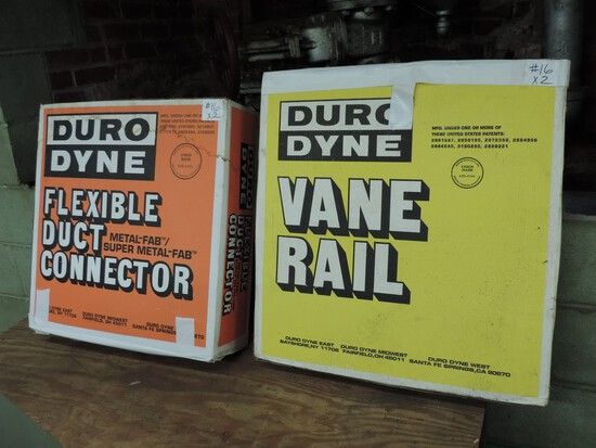 Duro Dyne Vane Rail and Flexible Duck Connector