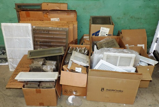Large Lot of Vent Covers and Grills
