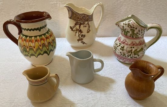 Lot of Assorted Pitchers
