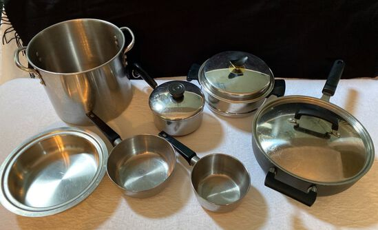 Lot of Cookware including Calphalon Pan
