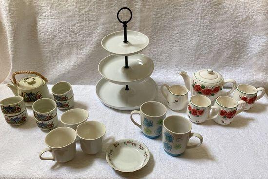 Lot of China Tea Sets and More!