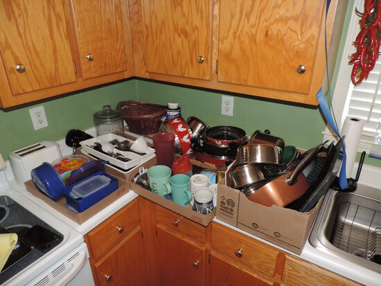 Kitchen and House Hold Lot