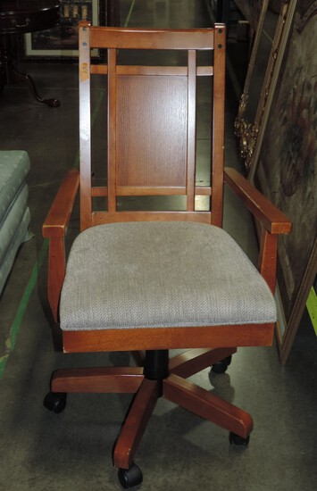 Arts & Crafts Style Desk Chair