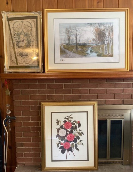 3-Pieces of Assorted Framed Art
