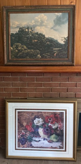 2-Pieces of Framed Art