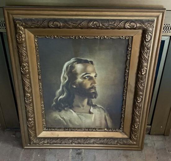 Framed Portrait of Jesus