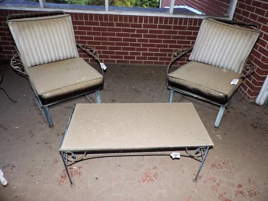 Lot of Vintage Porch Furniture