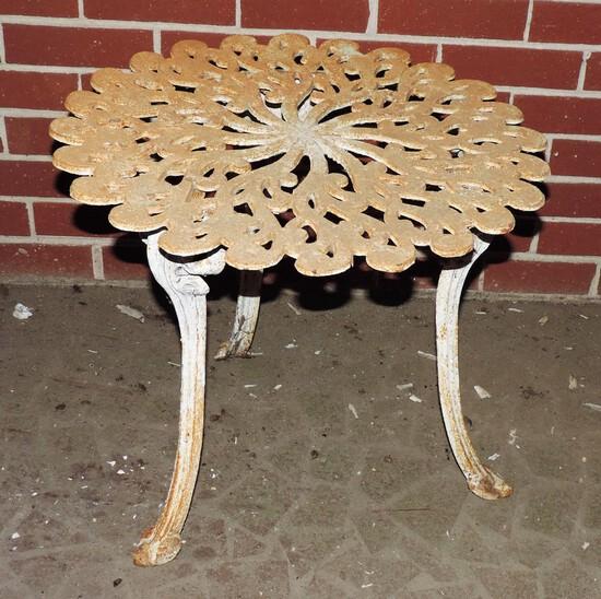 Antique Metal Table