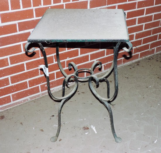 Iron Outdoor Table