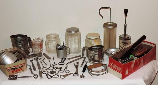 Vintage Kitchen Lot
