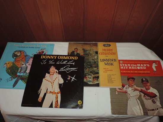 Group of Records LP Records