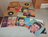 Lot of 45 Rock and Records