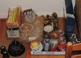 Candle and Candleholder Lot