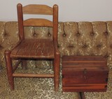 Child's Chair and Cedar Chest