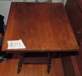 Oak Bible Table