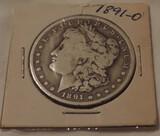 1891-O Morgan Silver Dollar